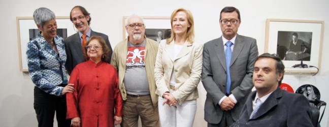 Inauguración Cristina García Rodero y Rafael Sanz Lobato